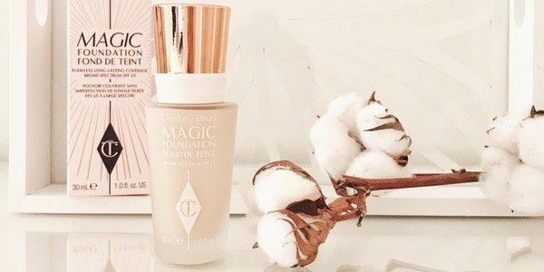 Fond de teint Magic Foudation de Charlotte Tilbury // Blog Mangue Poudrée