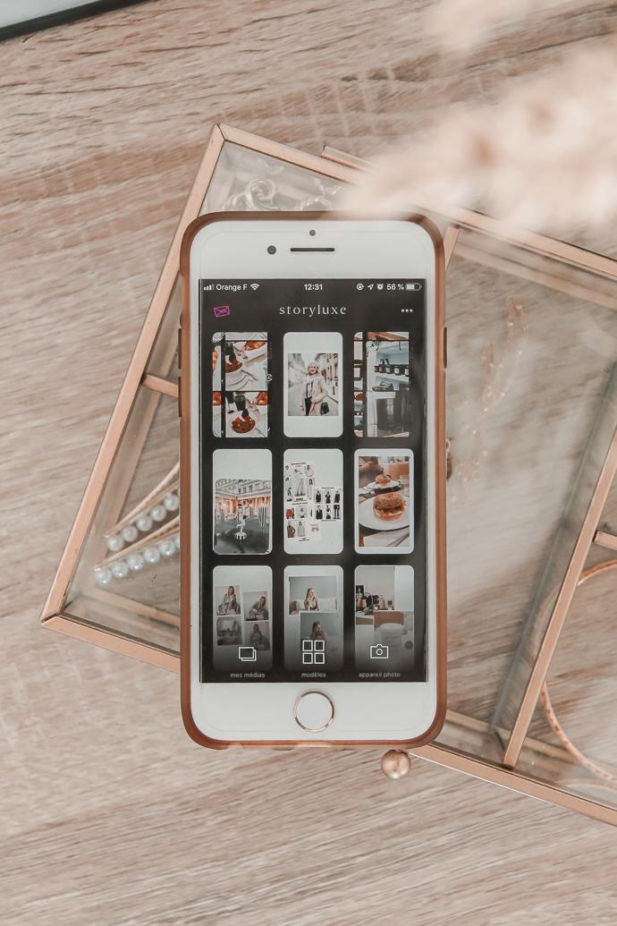 Mes 5 applications pour créer de belles stories Instagram - Blog Mangue Poudrée - Blog mode et lifestyle à Reims - 01
