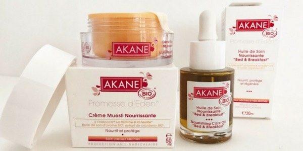 Routine peau sèche Akane blog mangue poudrée 2