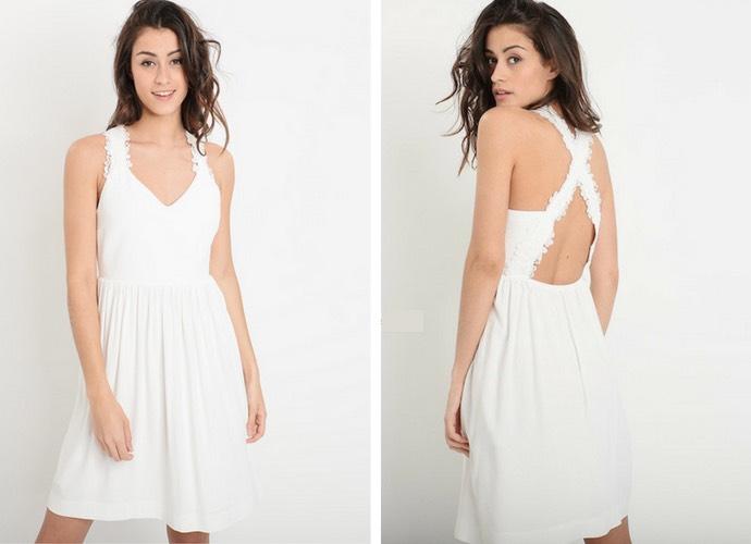 robe roby claudie pierlot - Mangue Poudrée blog mode