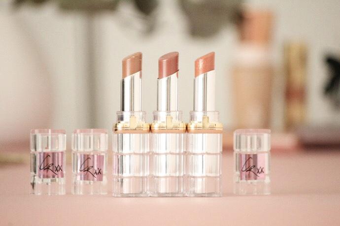 L'Oréal x Caroline Receveur - Blog Mangue Poudrée RAL nude 01