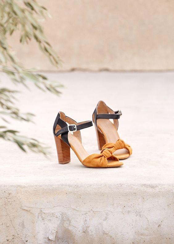 sandales roméo sézane moins cher mangue poudrée blog mode & beauté