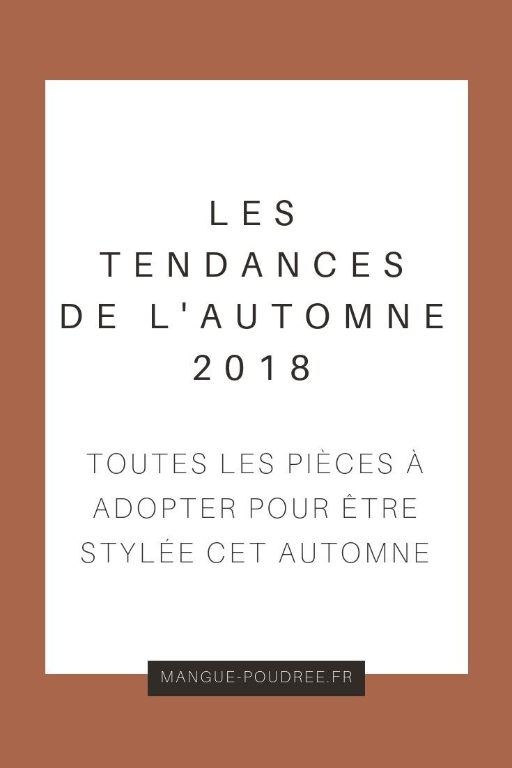 les tendances de l'automne - Mangue Poudrée - Blog beauté, mode & lifestyle