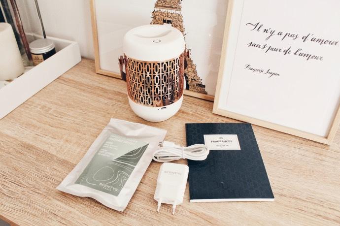 Avis Odyscent diffuseur de parfum Scentys - Blog Mangue Poudrée - blog beauté, mode et lifestyle à Reims 02