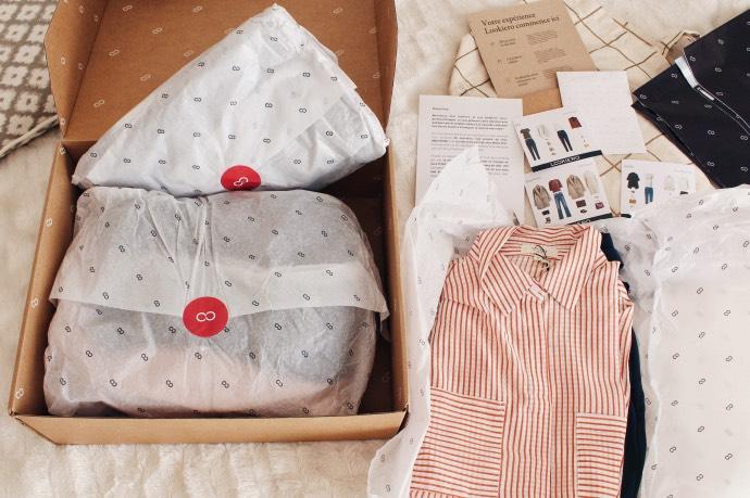 BOX Lookiero avis - blog mangue poudrée - blog beauté mode et lifestyle 01