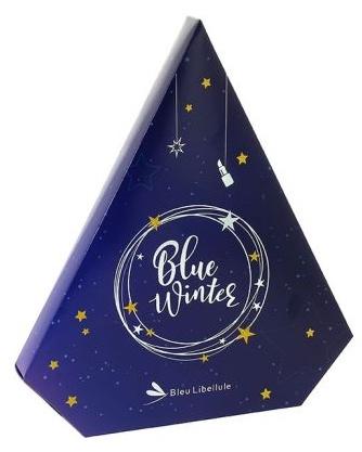 Calendriers de l'avent 2018 - Blog Mangue Poudrée - Blog beauté, mode et lifestyle à Reims - Calendrier bleue libellule sapin 2018