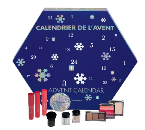 Calendriers de l'avent 2018 - Blog Mangue Poudrée - Blog beauté, mode et lifestyle à Reims - Calendrier marionnaud marques maquillage 2018