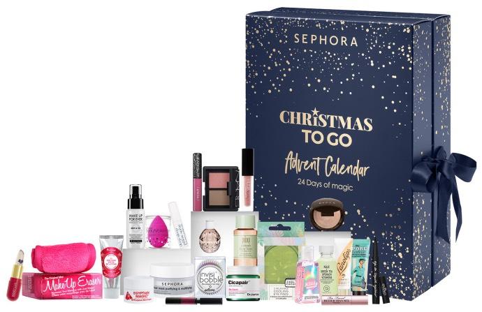 Calendriers de l'avent 2018 - Blog Mangue Poudrée - Blog beauté, mode et lifestyle à Reims - Calendrier sephora christmas to go 2018