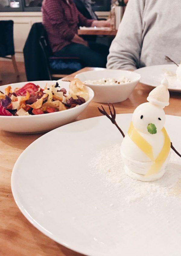 """Conquise par Le vendangeoir et son """"menu desserts"""""""