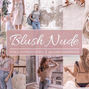 blush nude preset
