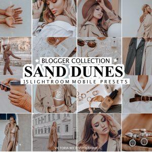 preset etsy sand dunes retouches photos instagram