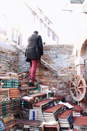 Que faire à venise en 3 jours - Blog Mangue Poudrée - Blog beauté, mode et lifestyle à Reims - Librairia Aqua Alta 01