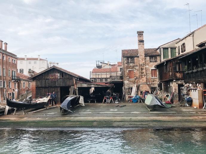 Que faire à venise en 3 jours - Blog Mangue Poudrée - Blog beauté, mode et lifestyle à Reims - Squero di San Trovaso
