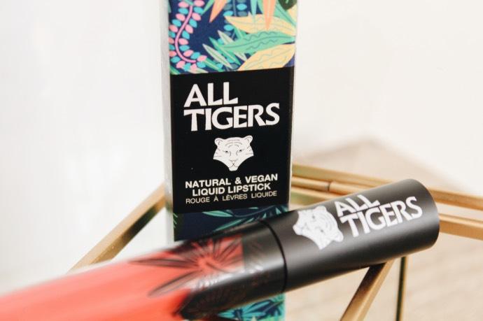Avis All Tigers Lead The Game naturel rouge a levres vegan cruelty free - Blog Mangue Poudrée - Blog beauté & lifestyle à Reims & Paris - 05