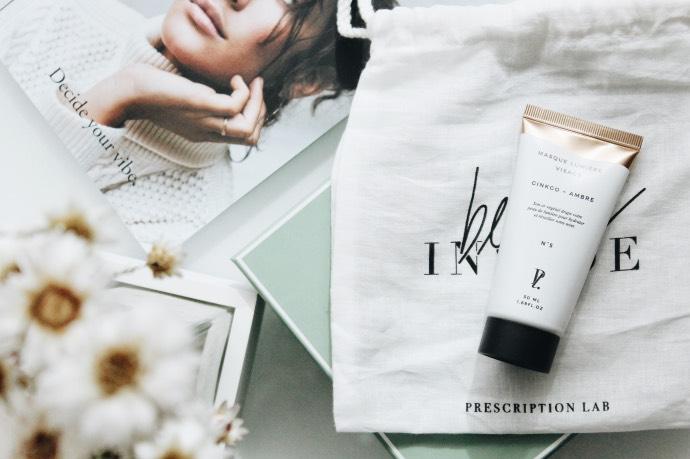 Avis Prescription Lab mars 2019 - Blog Mangue Poudrée - Blog beauté & lifestyle à Reims 05 masque ambre