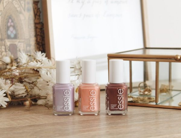 Collection Essie printemps 2019 : nudes et paillettes