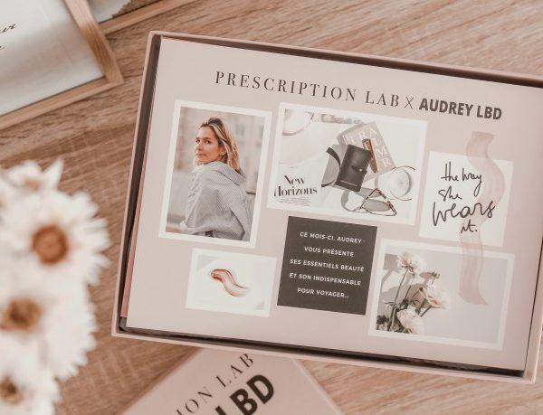 Prescription Lab x Audrey Lombard (mai 2019)
