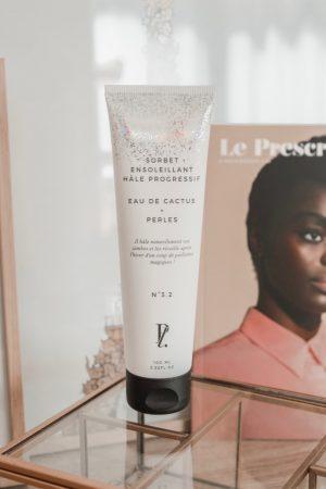 Avis Prescription Lab x Audrey Lombard contenu box mai 2019 - Blog Mangue Poudrée - Blog beauté et lifestyle à Reims - 06 sorbet ensoleillant hâle progressif