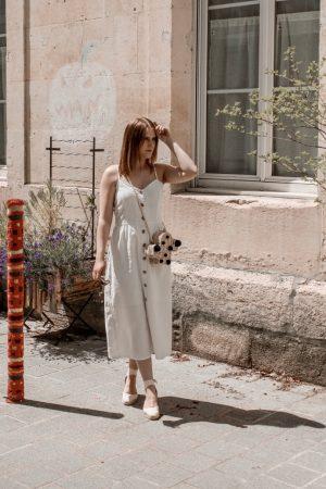 Must have été 2019 robe longue en lin blanche espadrilles castaner - Blog Mangue Poudrée - Blog beauté et mode à reims blogueuse influenceuse instragrammeuse - 11