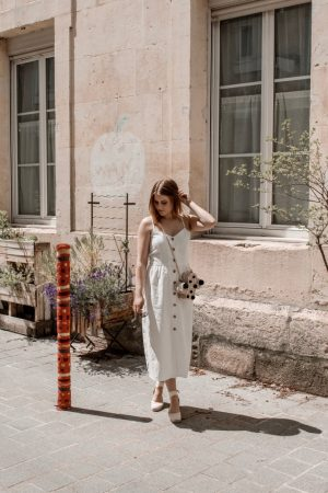 Must have été 2019 robe longue en lin blanche espadrilles castaner - Blog Mangue Poudrée - Blog beauté et mode à reims blogueuse influenceuse instragrammeuse - 12