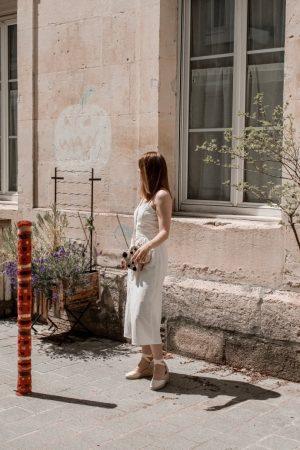 Must have été 2019 robe longue en lin blanche espadrilles castaner - Blog Mangue Poudrée - Blog beauté et mode à reims blogueuse influenceuse instragrammeuse - 13