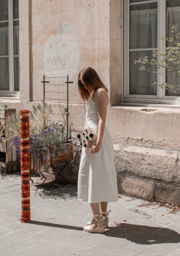 Must have été 2019 robe longue en lin blanche espadrilles castaner - Blog Mangue Poudrée - Blog beauté et mode à reims blogueuse influenceuse instragrammeuse - 14