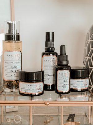 Routine de soins personnalisée Laboté Paris - Les cinq petites choses - Blog Mangue Poudrée - Blog beauté et lifestyle à Reims