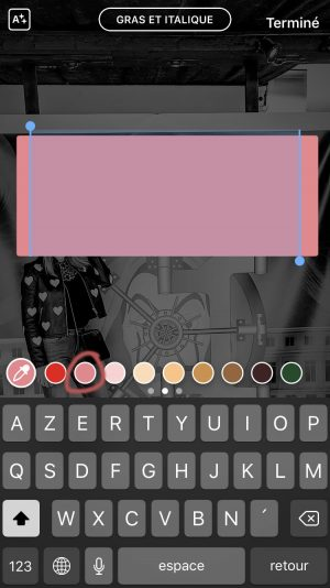 10 idées de stories créatives à réaliser avec Instagram - créer une boite de couleur -Blog Mangue Poudrée Blog beauté et lifestyle à reims Paris influenceuse 03