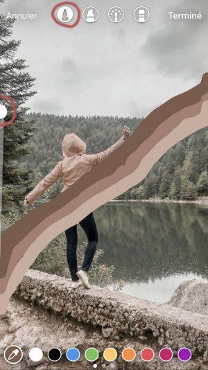 10 idées de stories créatives à réaliser avec Instagram - effet arc-en-ciel 3D - Blog Mangue Poudrée - Blog beauté et lifestyle à reims Paris influenceuse 02