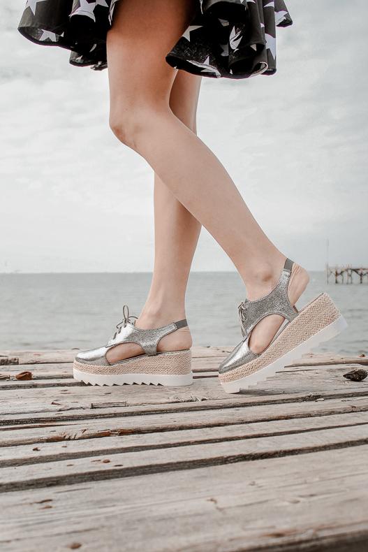 sandales compensées tendances de l'été - Blog Mangue Poudrée - blog beauté mode et lifestyle à Reims influenceuse - 01