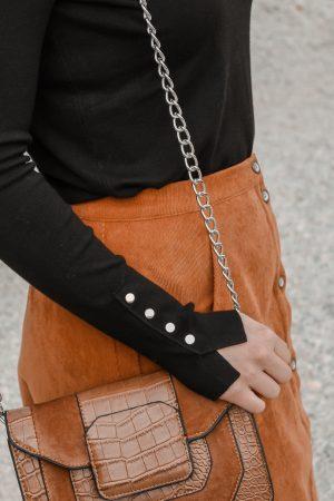 Comment porter le velours côtelé ? - 3 façons de porter le velours côtelé en automne avec 3 idées de looks facile à reproduire - Blog Mangue Poudrée - Blog mode et lifestyle à Reims influenceuse - 04