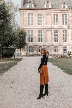 Comment porter le velours côtelé ? - 3 façons de porter le velours côtelé en automne avec 3 idées de looks facile à reproduire - Blog Mangue Poudrée - Blog mode et lifestyle à Reims influenceuse - 06