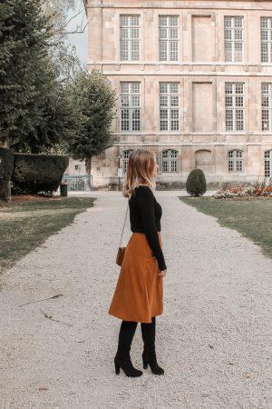 Comment porter le velours côtelé ? - 3 façons de porter le velours côtelé en automne avec 3 idées de looks facile à reproduire - Blog Mangue Poudrée - Blog mode et lifestyle à Reims influenceuse - 07