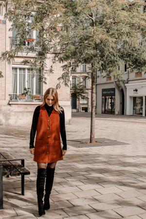 Comment porter le velours côtelé ? - 3 façons de porter le velours côtelé en automne avec 3 idées de looks facile à reproduire - Blog Mangue Poudrée - Blog mode et lifestyle à Reims influenceuse - 18