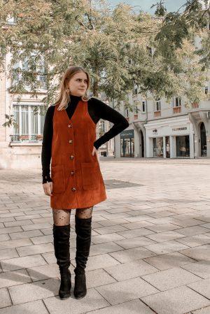 Comment porter le velours côtelé ? - 3 façons de porter le velours côtelé en automne avec 3 idées de looks facile à reproduire - Blog Mangue Poudrée - Blog mode et lifestyle à Reims influenceuse - 25