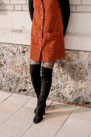 Comment porter le velours côtelé ? - 3 façons de porter le velours côtelé en automne avec 3 idées de looks facile à reproduire - Blog Mangue Poudrée - Blog mode et lifestyle à Reims influenceuse - 30