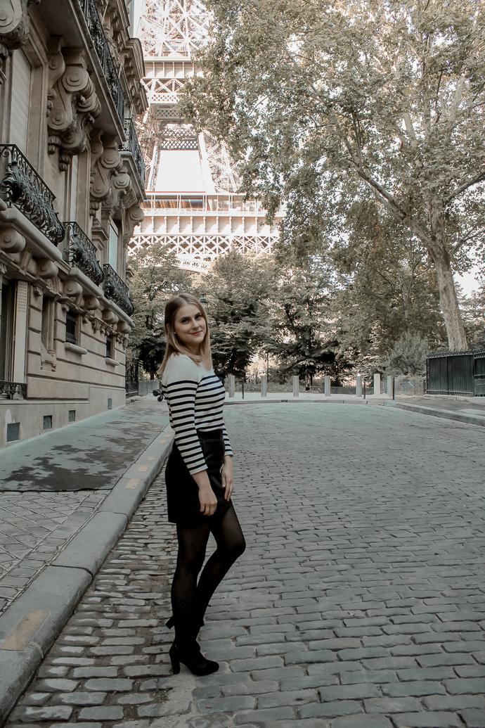 Mon look d'automne à Paris rue de l'université 8eme - Blog Mangue Poudrée - Blog mode et lifestyle à Reims influenceuse - 05