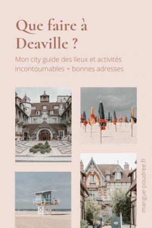 Que faire à Deauville et Trouvuille en 1 week-end ? - Blog Mangue Poudrée - Blog beauté et lifestyle à Reims Paris influenceuse 23