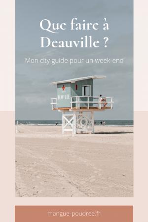 Que faire à Deauville et Trouvuille en 1 week-end ? - Blog Mangue Poudrée - Blog beauté et lifestyle à Reims Paris influenceuse 25