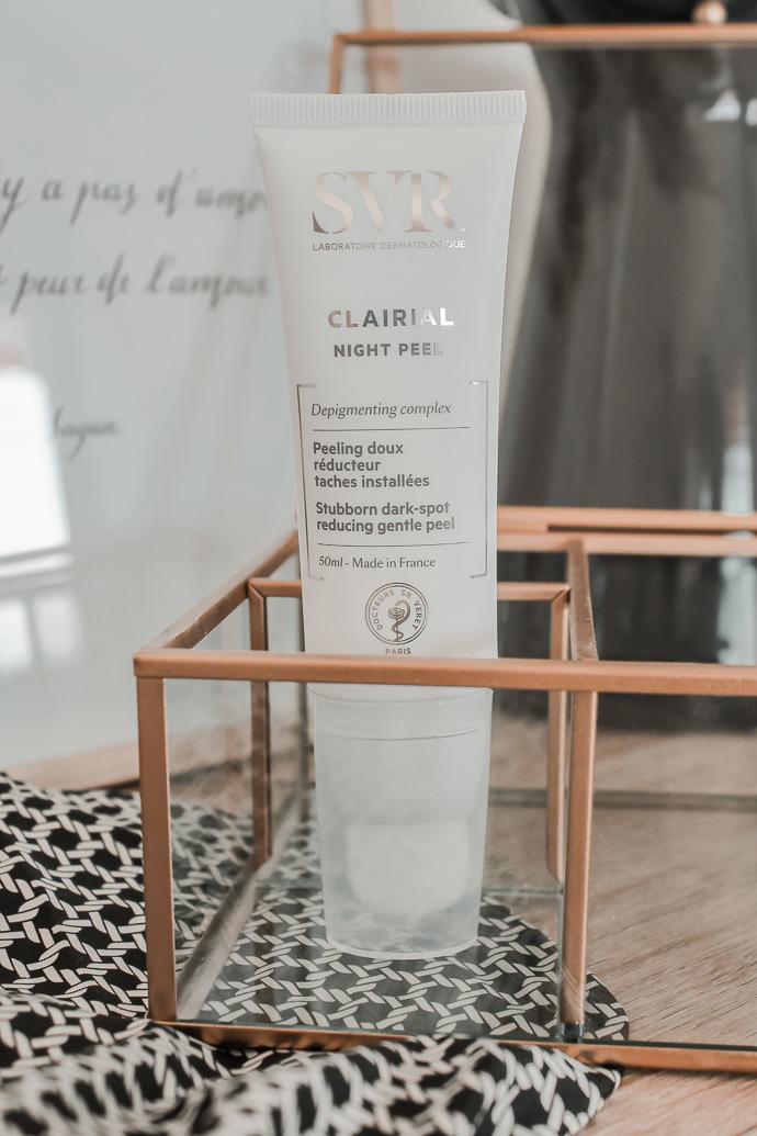 Mon avis sur la routine Clairial SVR night peel sérum - Blog Mangue Poudrée - Blog beauté, mode et lifestyle à Reims et Paris influenceuse - 07
