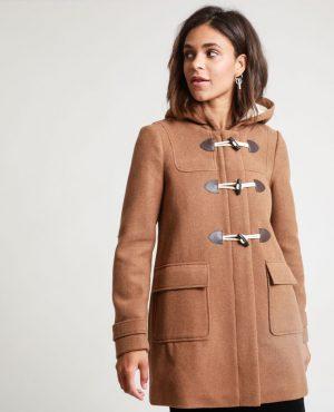 Duffle coat pimkie camel - Blog Mangue Poudrée - les 5 petites choses - blog beauté, mode et lifestyle à reims paris