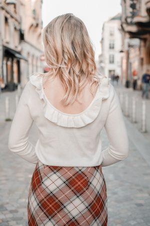 La jupe tartan parfaite pour l'automne hiver - Blog Mangue Poudrée - Blog mode et lifestyle à Paris et Reims - 08