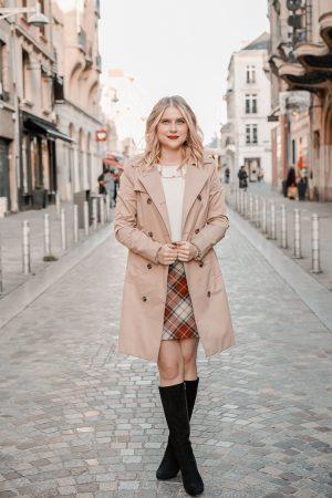 La jupe tartan parfaite pour l'automne hiver - Blog Mangue Poudrée - Blog mode et lifestyle à Paris et Reims - 10