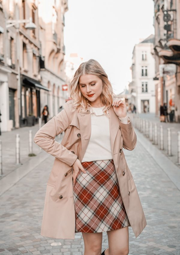 La jupe tartan parfaite pour l'hiver