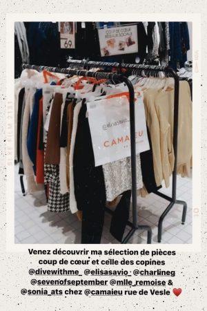 Ma sélection de pièces coup de coeur au camaieu de reims rue de vesle - Blog Mangue Poudrée - Blog mode et lifestyle à reims paris influenceuse