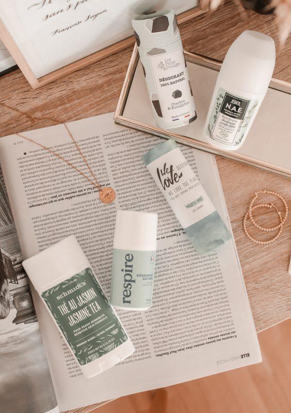 Mes 5 déodorants naturels et efficaces favoris - Blog Mangue Poudrée - Blog beauté et Lifestyle Paris Reims influenceuse - 01