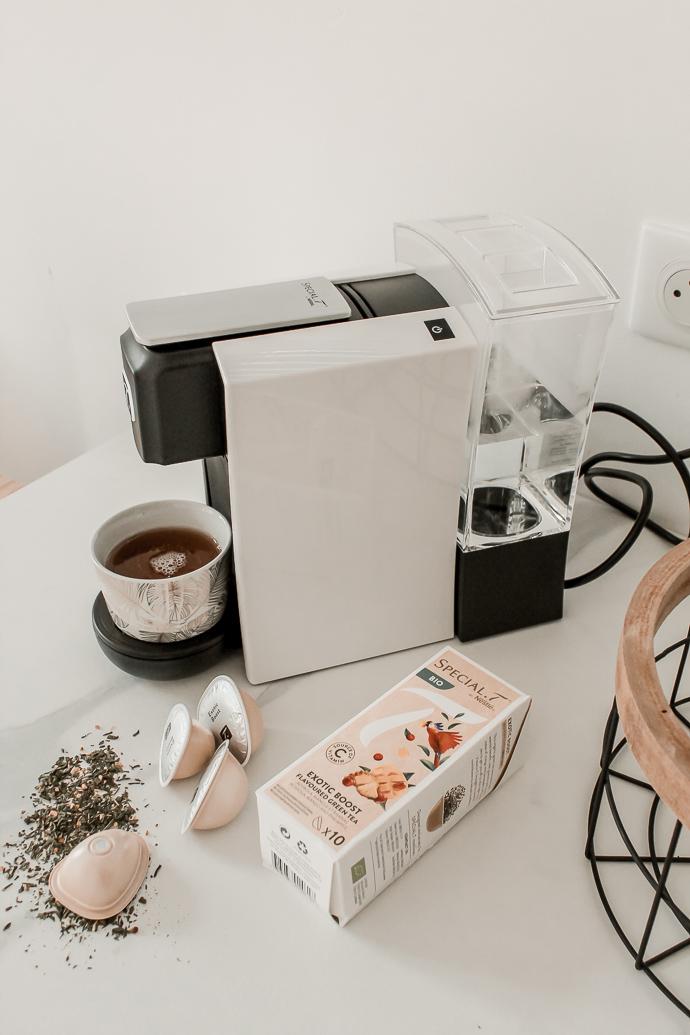 Mon moment cocooning avec SPECIAL.T avis machine à thé - Blog Mangue Poudrée - Blog mode et lifestyle à Reims influenceuse Paris