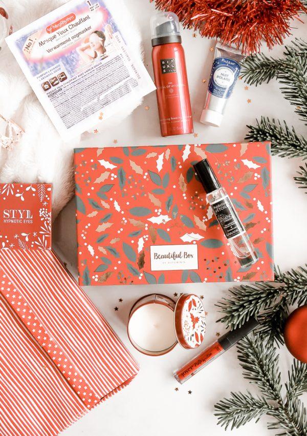 Un Noël plein de paillettes avec la Beautiful Box de décembre 2019
