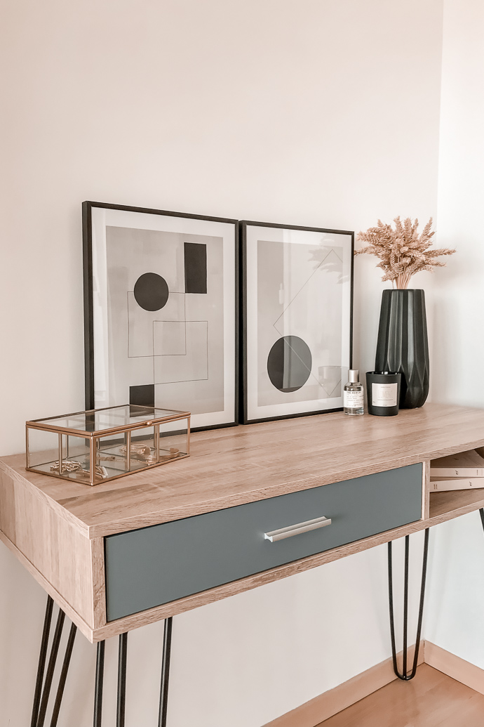 Apercu De Notre Deco Minimaliste Avec Les Affiches Desenio Mangue Poudree