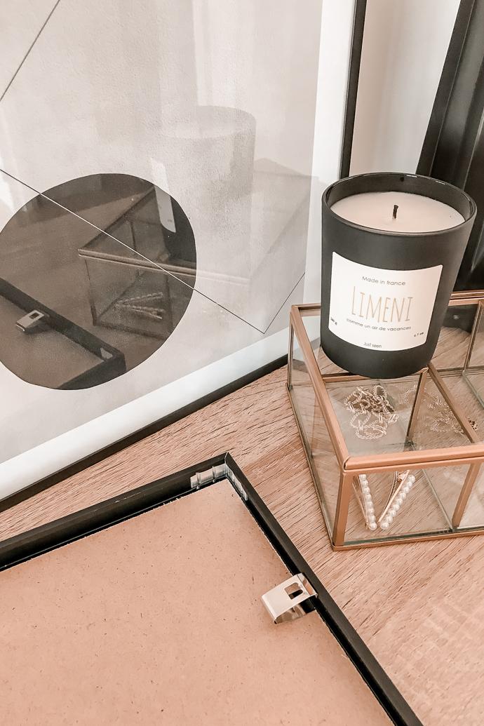 Avis Desenio Affiches cadres - deco minimaliste scandinave - blog Mangue Poudrée - Blog Mode et Lifestyle à Reims Paris influenceuse -5